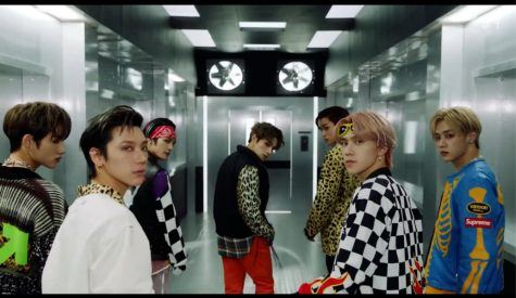 WayV in the video for Kick Back, the title track on their new album (Courtesy of SMTOWN on Youtube)