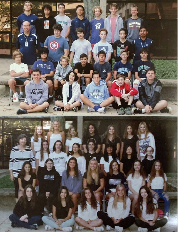 Van Mersbergen and Ward freshman 2019-2020 adviseries